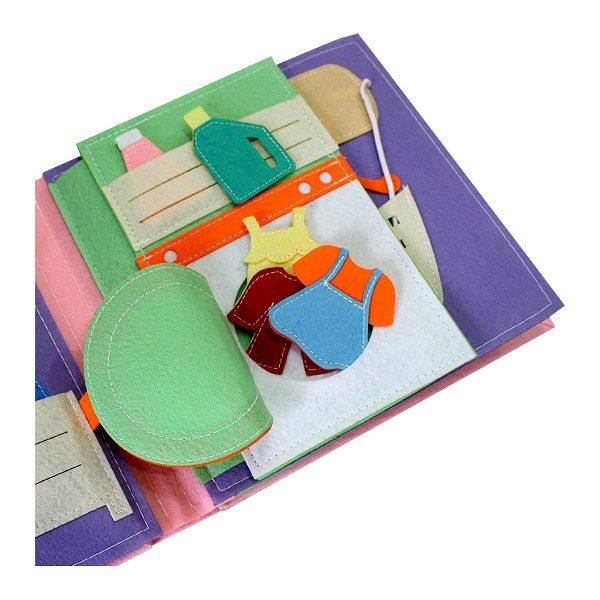 Sách vải một ngày của bé gái 4