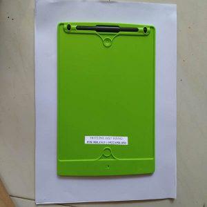 Bảng vẽ viết tự xóa LCD 8.5 Inch màu Xanh lá mặt sau