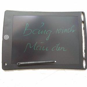Bảng vẽ tự xóa LCD 10.5 Inch màu đen bìa