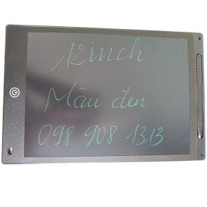 Bảng viết vẽ tự xóa LCD 12 Inch Màu Đen bìa