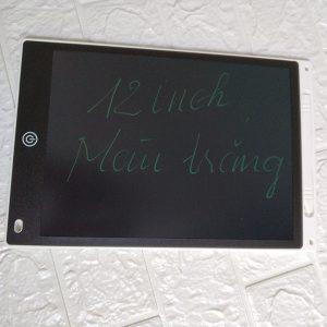 Bảng viết vẽ tự xóa LCD 12 Inch Màu Trắng bìa
