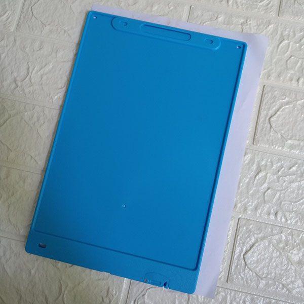 Bảng viết vẽ tự xóa LCD 12 Inch Màu Xanh Dương 2