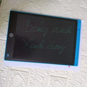 Bảng viết vẽ tự xóa LCD 12 Inch Màu Xanh Dương bìa