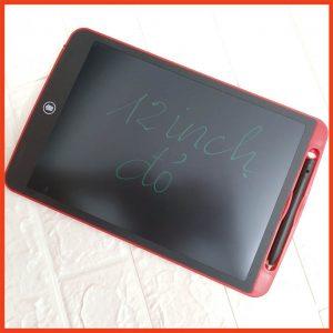 Bảng viết vẽ tự xóa LCD 12 Inch Nét Đậm Màu đỏ 2020 bìa