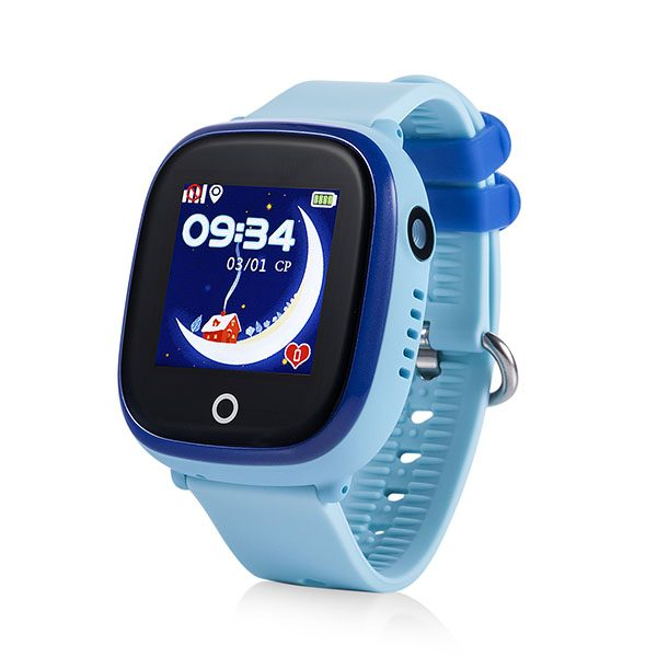 Đồng hồ định vị trẻ em chống nước Kid4S - Xanh