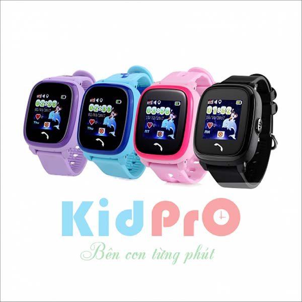 Đồng hồ định vị trẻ em chống nước KidPrO4 nhiều màu