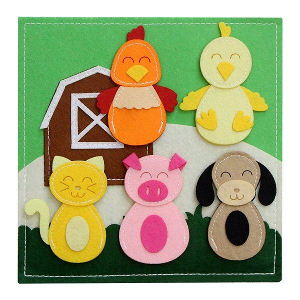 Sách vải Mầm Non Bộ Học Liệu Gấu Con - Dành cho bé từ 9 tháng - 4 tuổi 3