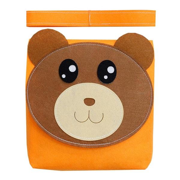 Sách vải Mầm Non Bộ Học Liệu Gấu Con - Dành cho bé từ 9 tháng - 4 tuổi bìa