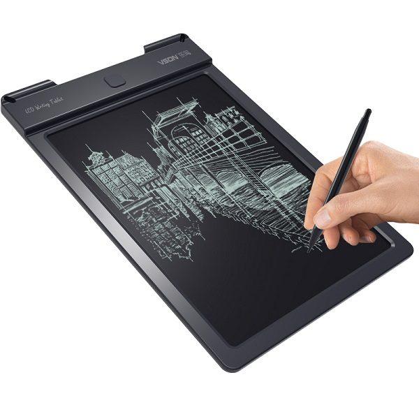 Bảng viết vẽ điện tử tự xóa và lưu dữ liệu vào thiết bị Android, iPhone, iPad TechPro Vson 9inch 1