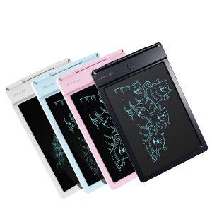 Bảng viết vẽ điện tử tự xóa và lưu dữ liệu vào thiết bị Android, iPhone, iPad TechPro Vson 9inch bìa