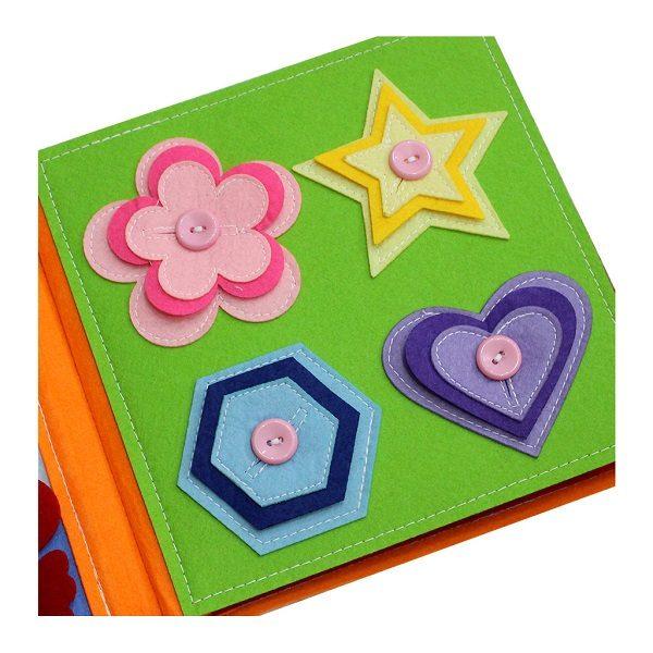 Sách vải Mầm Non Kiến Thức Cơ Bản - Dành cho bé từ 1 - 6 tuổi 1