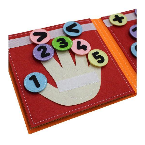 Sách vải Mầm Non Kiến Thức Cơ Bản - Dành cho bé từ 1 - 6 tuổi 5