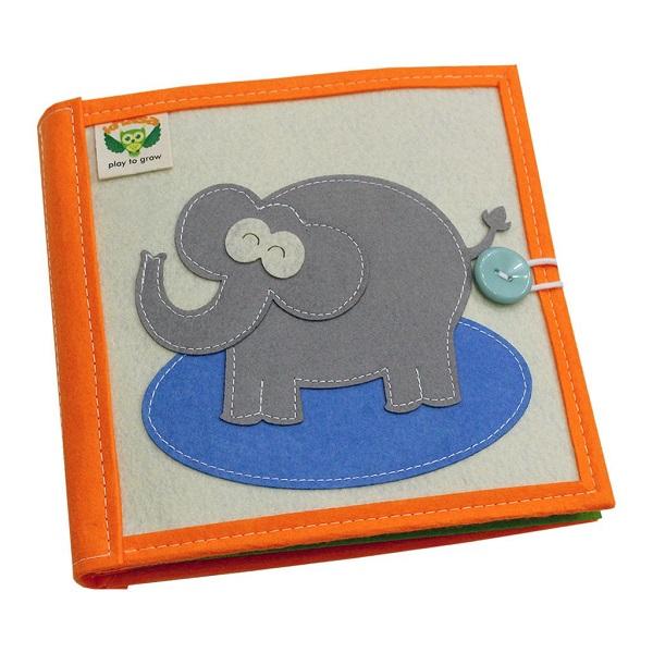 Sách vải Mầm Non Kiến Thức Cơ Bản - Dành cho bé từ 1 - 6 tuổi bìa