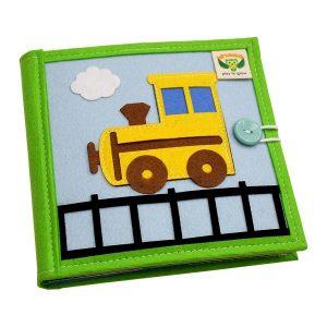 Sách vải Mầm Non Phương Tiện Giao Thông – Dành cho bé từ 1 – 6 tuổi bìa