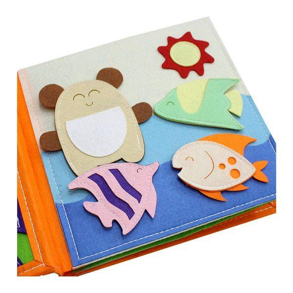 Sách vải Mầm Non Tuổi Thần Tiên – Dành cho trẻ sơ sinh từ 0 – 3 tuổi 3