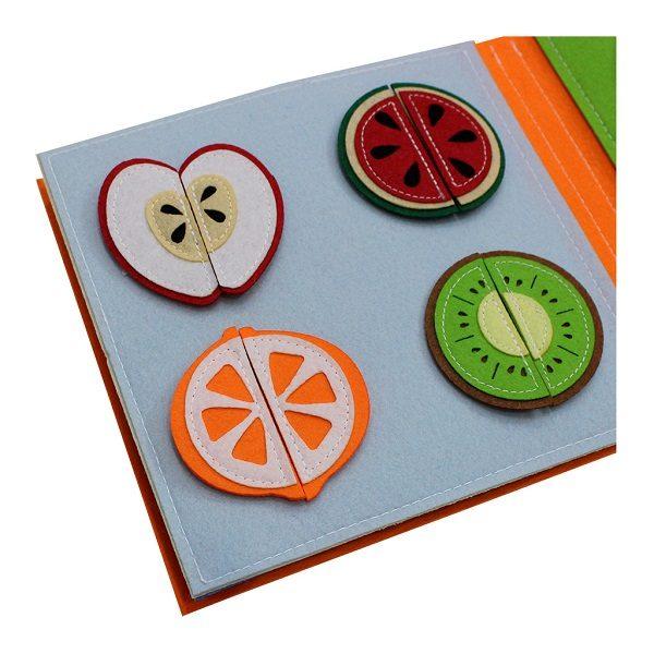 Sách vải Mầm Non Tuổi Thần Tiên – Dành cho trẻ sơ sinh từ 0 – 3 tuổi 5