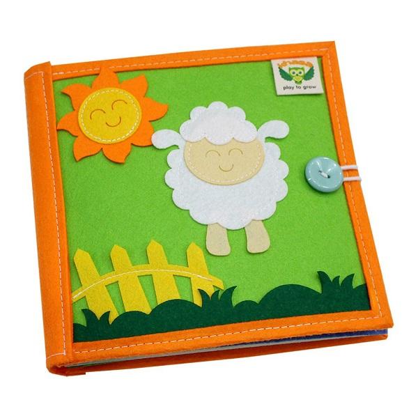 Sách vải Mầm Non Tuổi Thần Tiên – Dành cho trẻ sơ sinh từ 0 – 3 tuổi bìa