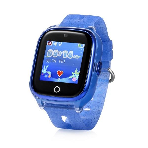 Đồng Hồ Định Vị Trẻ Em GPS, Chống Nước IP67, Hỗ Trợ Camera Kidpro 5 Màu Xanh Nước Biển bìa