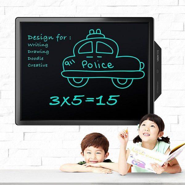 Bảng viết vẽ ghi chú tự xóa thông minh màn hình khủng TechPro Vson 20 inch 2
