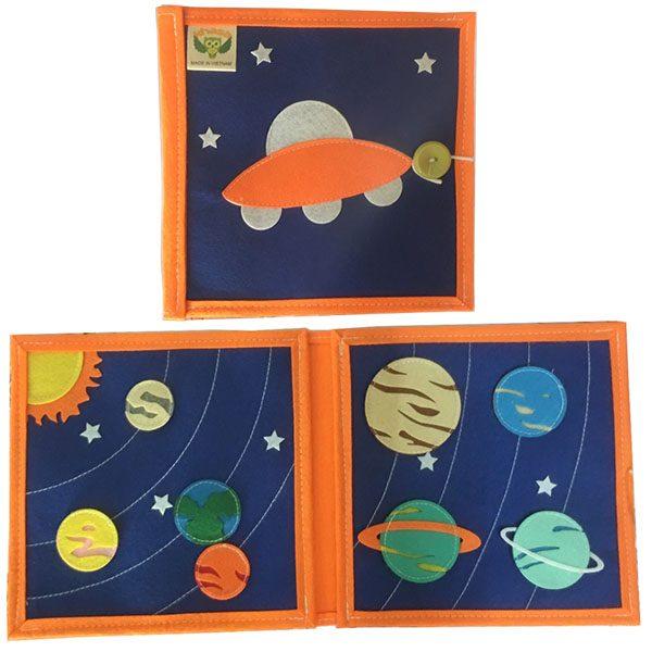 Sách Vải Hệ Mặt Trời bìa