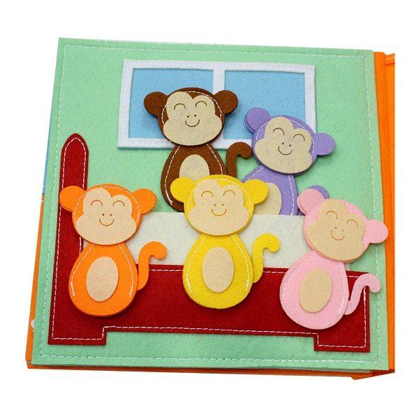 Sách vải Là Lá La 2 - Dành cho bé mầm non từ 1 - 6 tuổi 1