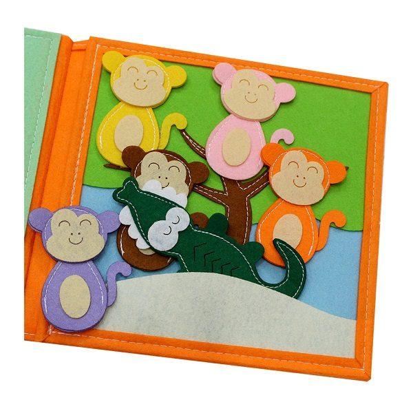 Sách vải Là Lá La 2 - Dành cho bé mầm non từ 1 - 6 tuổi 2