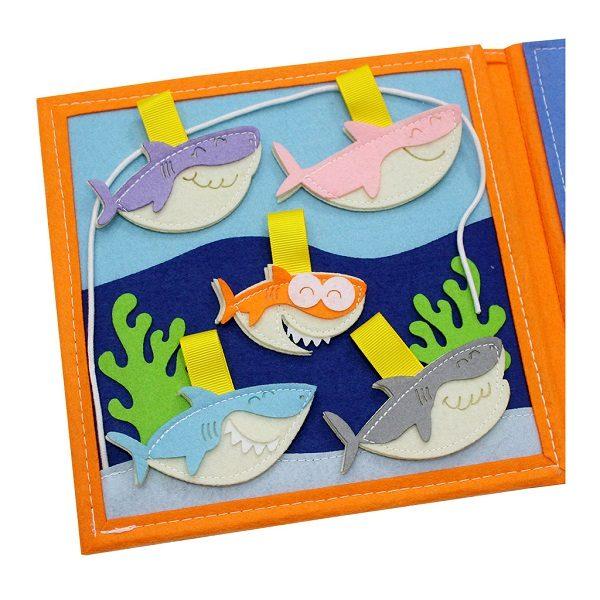 Sách vải Là Lá La 2 - Dành cho bé mầm non từ 1 - 6 tuổi 3