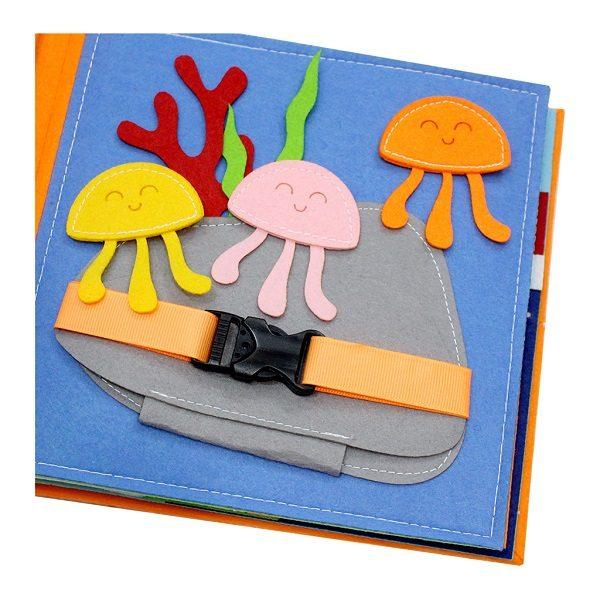 Sách vải Là Lá La 2 - Dành cho bé mầm non từ 1 - 6 tuổi 4