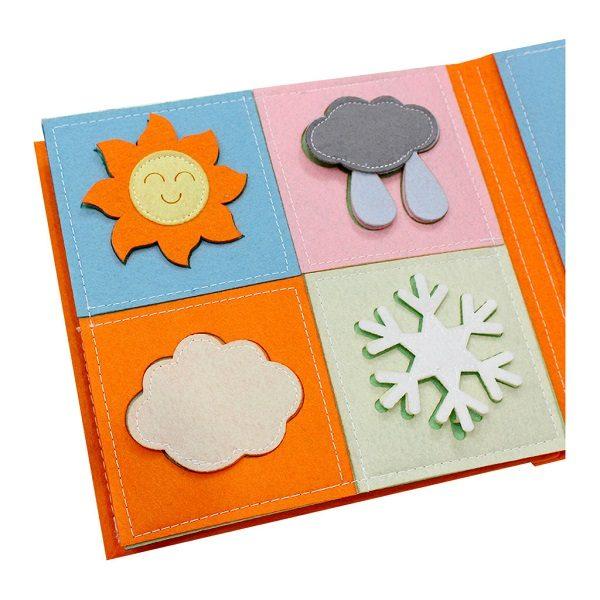 Sách vải Là Lá La 2 - Dành cho bé mầm non từ 1 - 6 tuổi 5