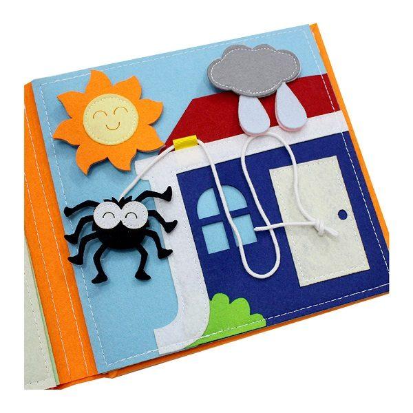 Sách vải Là Lá La 2 - Dành cho bé mầm non từ 1 - 6 tuổi 6