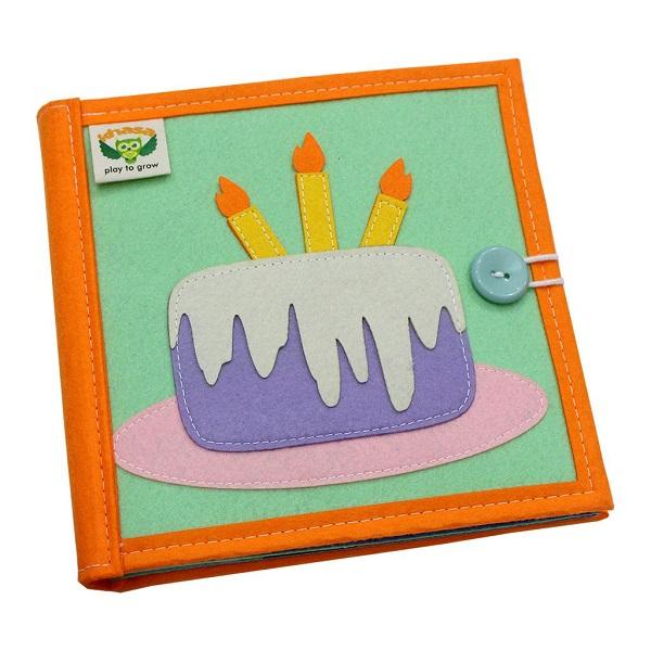 Sách vải Là Lá La 2 - Dành cho bé mầm non từ 1 - 6 tuổi bìa