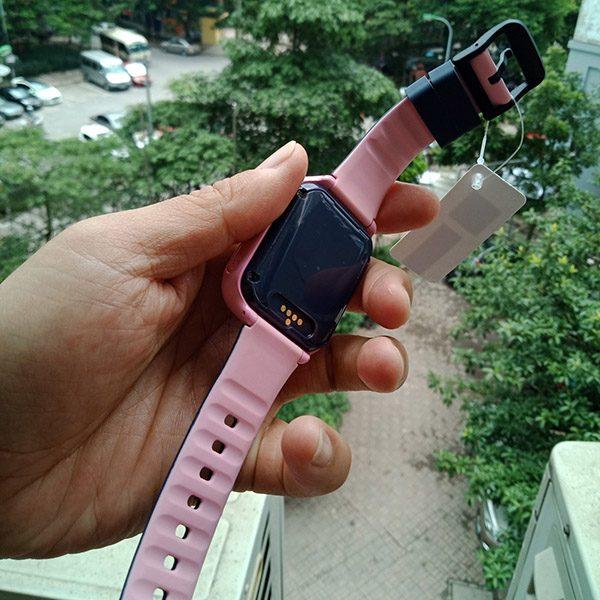 Đồng Hồ Định Vị Trẻ Em GPS, Chống Nước IP67, Hỗ Trợ Camera, Gọi Video Call 4G Kidpro7 Màu Hồng 1