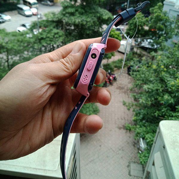 Đồng Hồ Định Vị Trẻ Em GPS, Chống Nước IP67, Hỗ Trợ Camera, Gọi Video Call 4G Kidpro7 Màu Hồng 2
