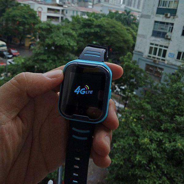 Đồng Hồ Định Vị Trẻ Em GPS, Chống Nước IP67, Hỗ Trợ Camera, Gọi Video Call 4G Kidpro7 Màu Xanh 1