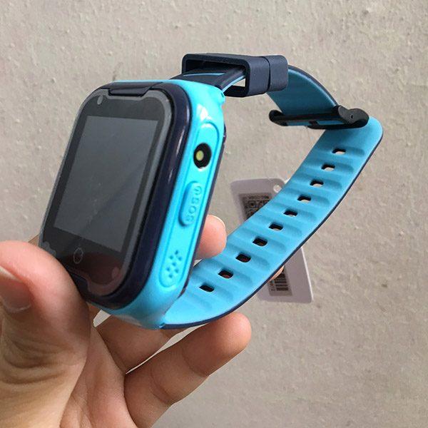 Đồng Hồ Định Vị Trẻ Em GPS, Chống Nước IP67, Hỗ Trợ Camera, Gọi Video Call 4G Kidpro7 Màu Xanh 5