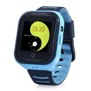 Đồng Hồ Định Vị Trẻ Em GPS, Chống Nước IP67, Hỗ Trợ Camera, Gọi Video Call 4G Kidpro7 Màu Xanh bìa