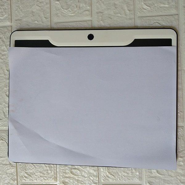 Bảng viết vẽ ghi chú tự xóa thông minh màn đa sắc TechPro 15 inch Màu Hồng 3