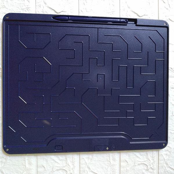 Bảng viết vẽ ghi chú tự xóa thông minh màn đa sắc TechPro 15 inch Màu Xanh 1