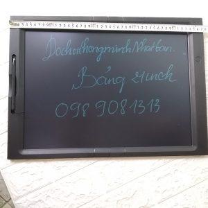 Bảng viết vẽ ghi chú tự xóa thông minh màn hình khủng TechPro 21 inch 4