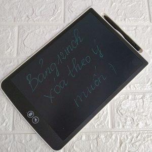 Bảng viết vẽ ghi chú tự xóa thông minh xóa theo ý muốn TechPro Smart Erase 12 inchMàu Trắng bìa
