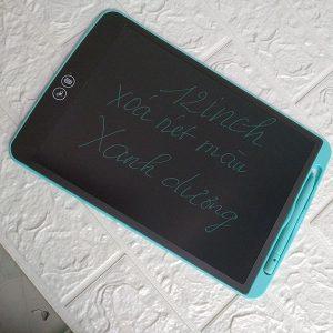 Bảng viết vẽ ghi chú tự xóa thông minh XÓA THEO Ý MUỐN TechPro Smart Erase 12 inch Màu Xanh Dương bìa