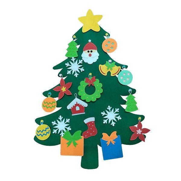 Cây thông Noel Giáng Sinh treo tường Handmade - Christmas tree bìa