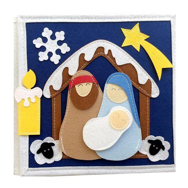 Sách Vải Giáng Sinh Vui Vẻ - Dành cho bé mầm non từ 1 - 6 tuổi 4