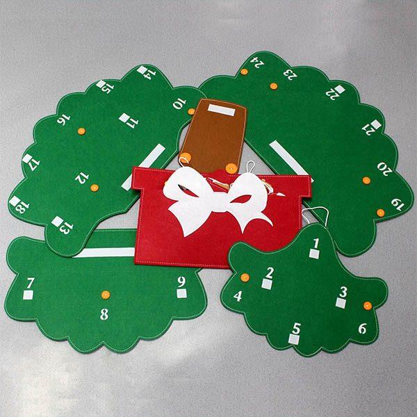 Cây Thông Noel Giáng Sinh Hạnh Phúc treo tường Cỡ lớn 1