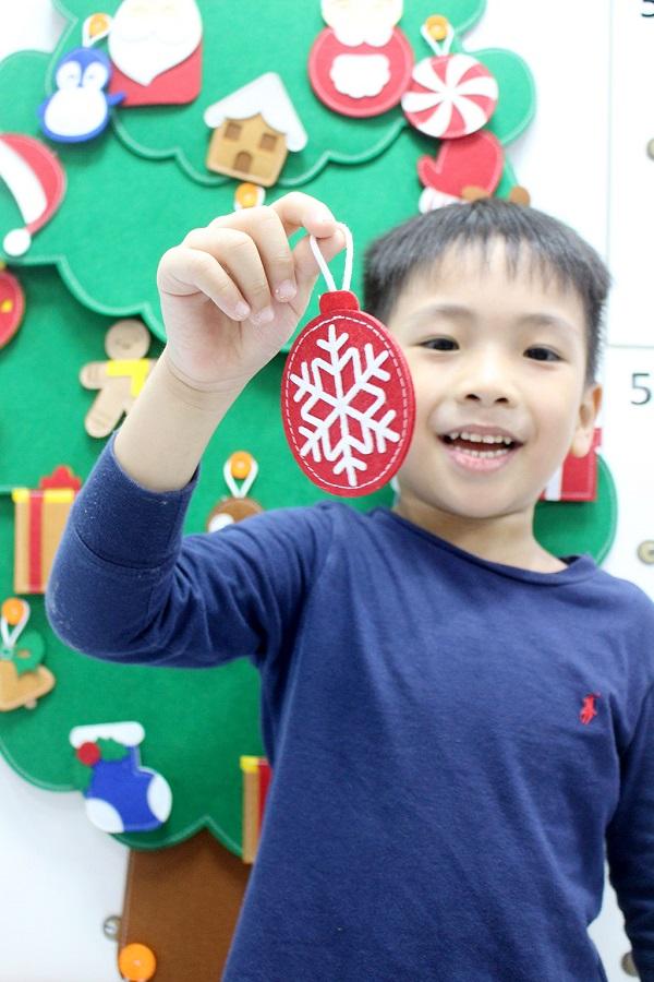 Cây Thông Noel Giáng Sinh Hạnh Phúc treo tường Cỡ lớn 5