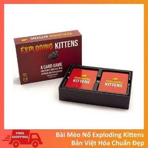 Bài Mèo Nổ Exploding Kittens Việt Hóa bìa