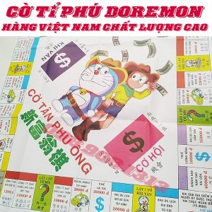 Bộ cờ tỷ phú Doraemon bìa