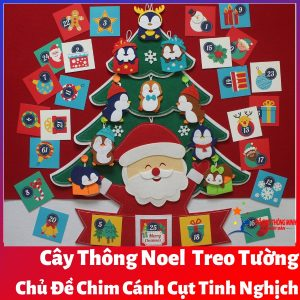 Cây thông Noel Chim Cánh Cụt Tinh Nghịch bìa