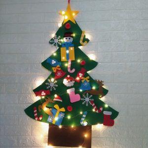 Cây thông Noel Giáng Sinh treo tường CH1 - Christmas tree bìa